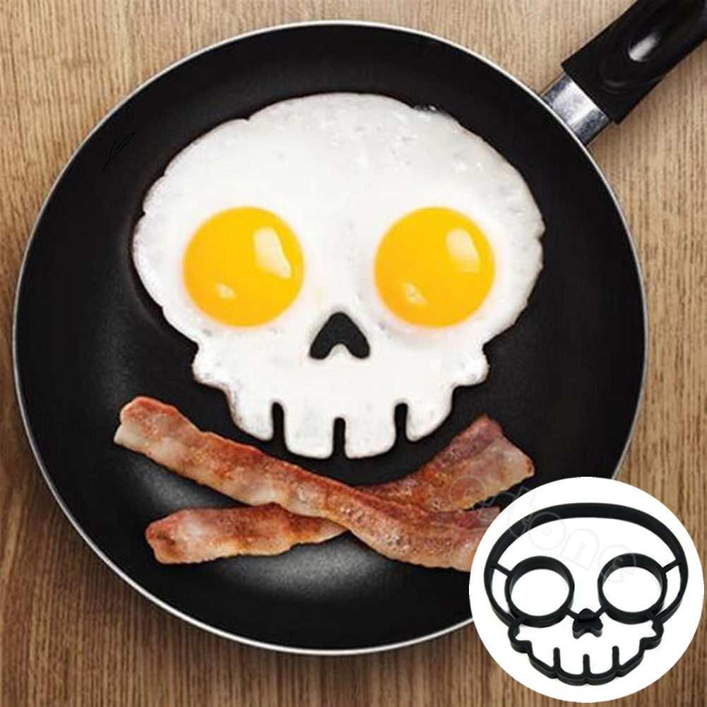 Yumurtanı skelet şəklində bişirmək üçün