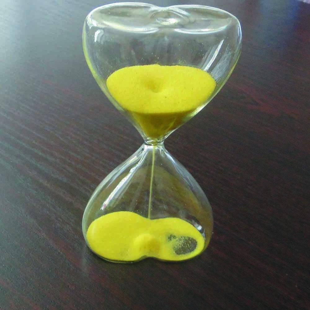 Ürək formalı qum saatı
