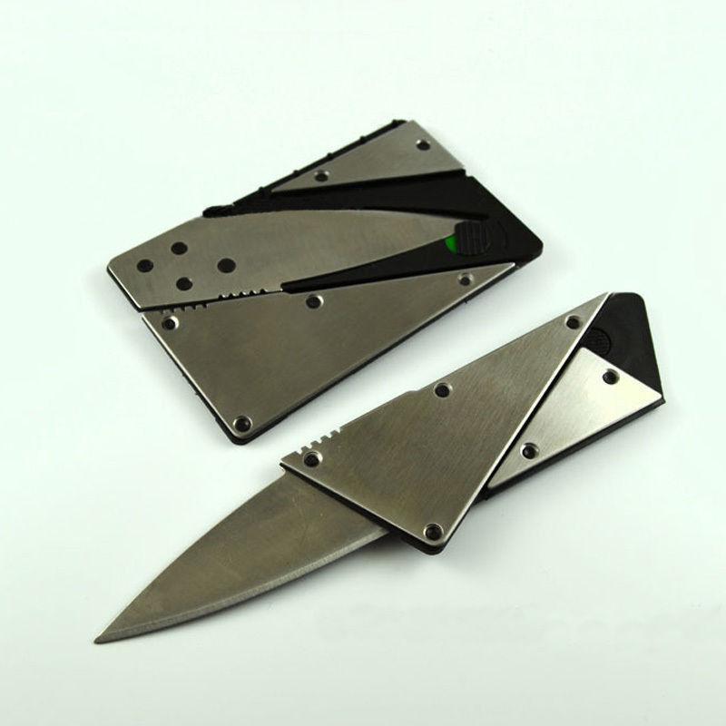 Plastik kart formalı bıçaq